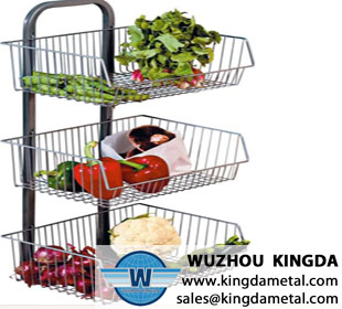 3 Tier vegetable storage rack
