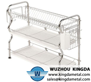 3 Tier wire dish rack