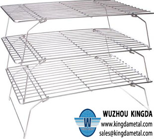 3-tiers wire cooling rack
