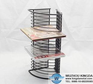 CD wire rack
