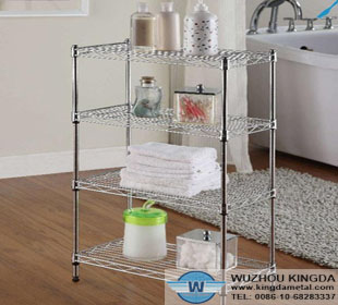 Chrome Kitchen Storage Racks