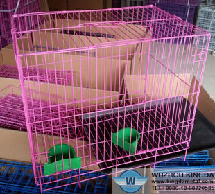 Foldable cat cages