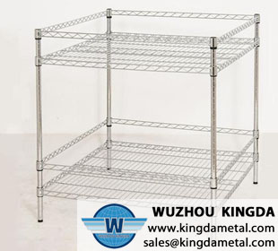 Kitchen stainless steel wire shelf