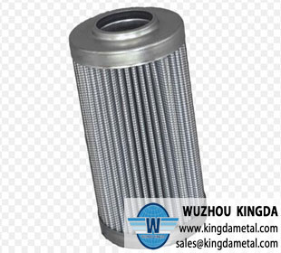 Mesh pleated filter cartridge