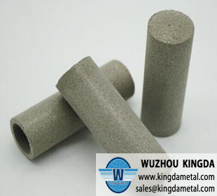 Metal sintered powder tube