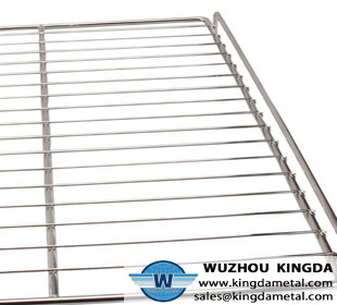 Metal wire oven rack