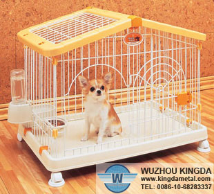 PVC coated cat cages