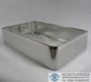 Perforated Sterilization Basket Perforated Sterilization