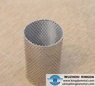 Perforated metal  and stainless steel filter