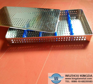 Perforated metal trays