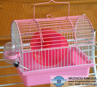 Round dome hamster cage