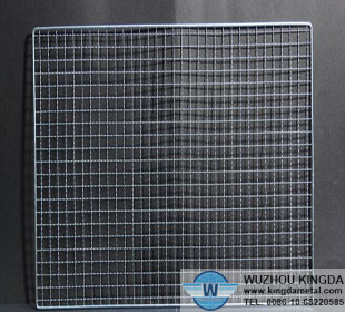 Square stainless steel barbecue net