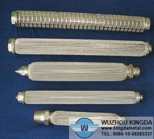 stainless steel filter screen tube