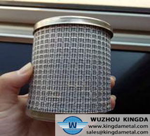 Stainless mesh filter tube