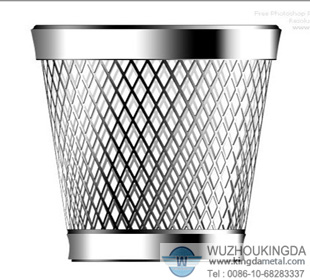 stainless steel metal mesh waste basket.stainless steel metal mesh ...