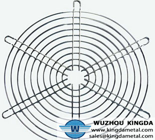 Stainless steel metal wire fan guard