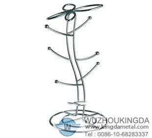 Stainless steel mug tree 7 stainless steel wire mesh screen 8 on stainless steel wire mesh screen