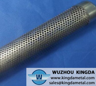 Stainless steel perforated metal tube