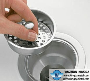 Stainless steel sink strainer for kitchen bathroom shower