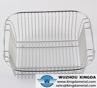 Stainless steel wire dish drainer