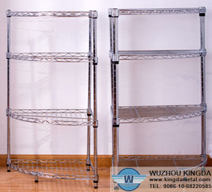 Stainless steel wire rack shelving