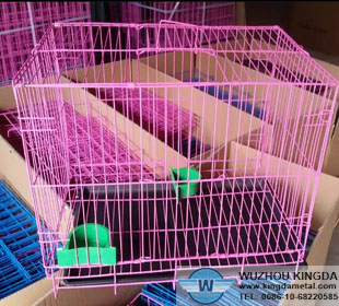 Steel wire mesh animal cages