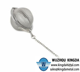 Tea strainer mesh ball