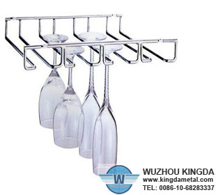 Under Cabinet Wine Gl Rack Supplier