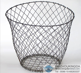Wire Waste Paper Basket wire waste paper bin,wire waste paper bin supplier-wuzhou kingda