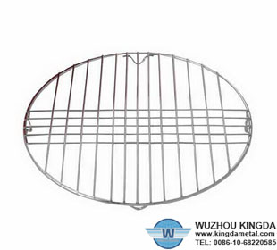 Wire broiling rack