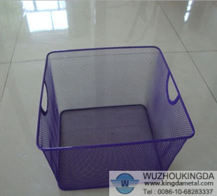 Colorful Mesh Storage Basket