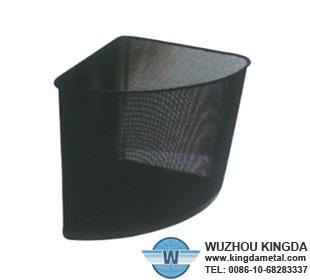 Corner wastebasket triangle corner wastebasket triangle manufacturer wuzhou kingda wire cloth co - Corner wastebasket ...