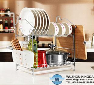 Dish Drainer Kitchen Dish Rack Wuzhou Kingda Wire Cloth Co