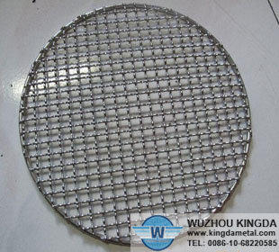 Galvanized iron wire barbecue net