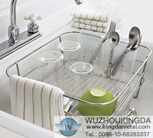 In Sink Dish Rack