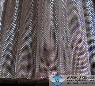 Industrial woven mesh tubing