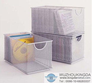 Mesh CD storage box & mesh CD storage boxmesh CD storage box supplier-Wuzhou Kingda Wire ...