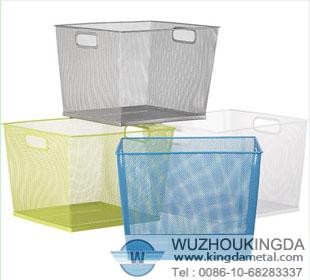High Quality Mesh Storage Baskets