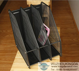 Metal Mesh Desk Tray Organizer