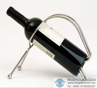 Metal wine bottle holder metal wine bottle holder supplier wuzhou kingda wire cloth co ltd - Wire wine bottle carrier ...