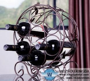 Metal Wire Wine Bottle Holdermetal Wire Wine Bottle Holder