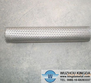 Perforated round hole filter tube