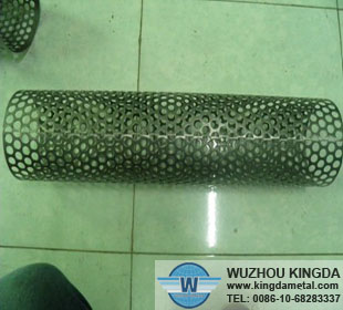 Perforated screen tube