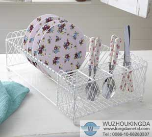 kitchen dish rack finish chrome plating feature single layer perfect modeling easy drying and ordering. Kitchen plate rack & plate draining rackkitchen plate rackkitchen dish rack-Wuzhou ...