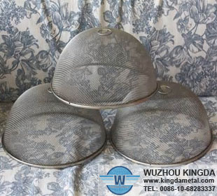 Round Metal Mesh Food Cover Round Metal Mesh Food Cover