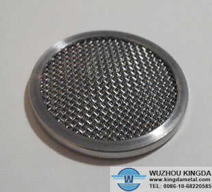 Round metal screens