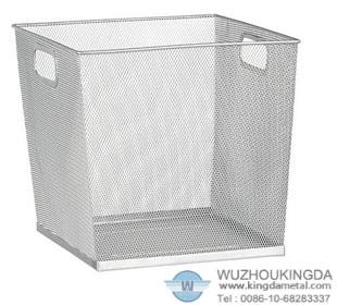 Silver Mesh Storage Box