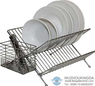 Kitchen Sink Dish Racks Characteristic: The Surface Is Smooth. Do Not Rust,  Anti Corrosive, Not Toxic, Long Useful Time. Uses: For Putting Plates And  Bowls ...
