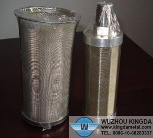 Sintered metal filters stainless