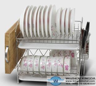 Spacing saving dish drying racks spacing saving dish drying racks manufacturer wuzhou kingda - Dish drying rack for small spaces minimalist ...